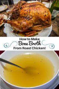 Make Bone Broth From Roast Chicken! Brittany Freakin Chavez