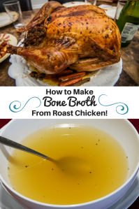 Make Bone Broth From Roast Chicken! Brittany Freakin Chavez
