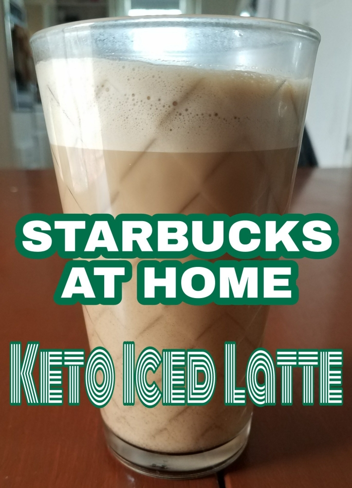 starbucks at home barista, keto iced coffee
